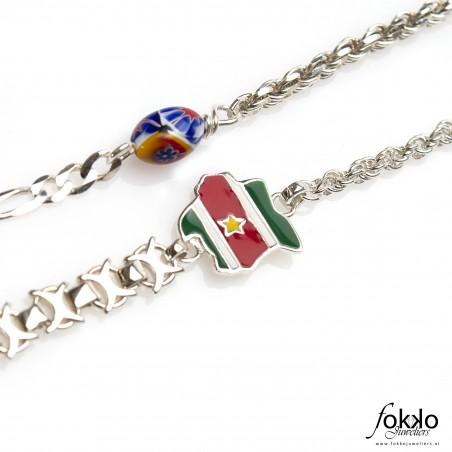 Ala kondre ketting   Surinaamse sieraden   Surinaamse juwelier