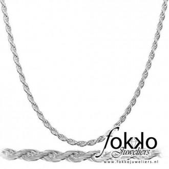 Rope chain | Zilveren rope chain | Goedkope rope chains | Koord ketting