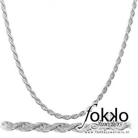 Rope chain | Zilveren rope chain