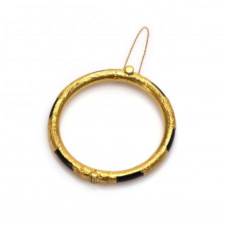 Gouden Surinaamse jade armband   Surinaamse armband goud