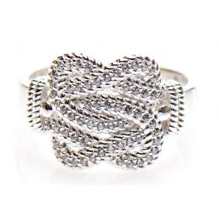 Mattenklopper ring   Surinaamse ring   Mattenklopper ring swarovski stenen
